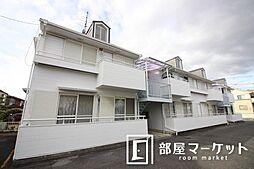 愛知県豊田市小坂町4丁目の賃貸アパートの外観