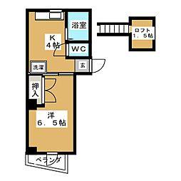 高橋ビル[6階]の間取り