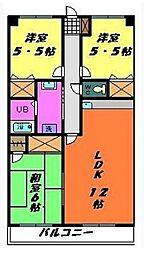 リアルジョイ薬園台弐番館[302号室号室]の間取り
