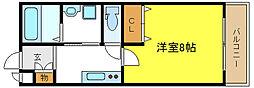 MYハイツ[2階]の間取り