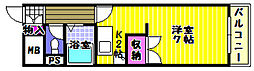 パイン・リバー1[4階]の間取り