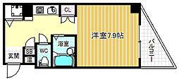 エムロード福島[7階]の間取り