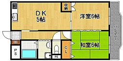 ミモダ武庫の里[2階]の間取り