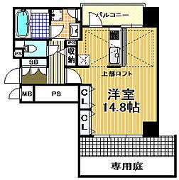 ネクサス三軒家[1階]の間取り