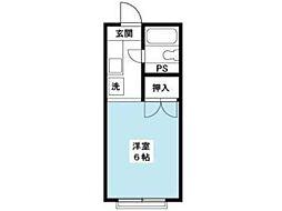 コゥージィーコート[1階]の間取り