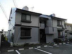 岐阜県岐阜市西改田夏梅の賃貸アパートの外観