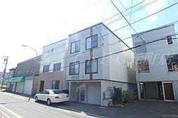 北海道札幌市東区北八条東5丁目の賃貸アパートの外観