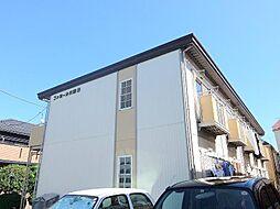 千葉県松戸市小金清志町3丁目の賃貸アパートの外観