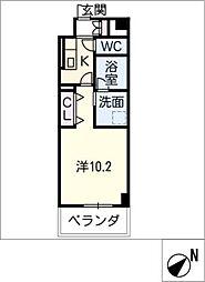 仮)D−room安島[1階]の間取り