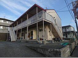 大阪府富田林市藤沢台7丁目の賃貸アパートの外観