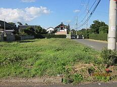 南側道路から撮影