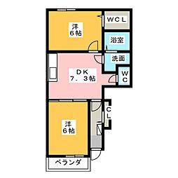 ほほえみ[1階]の間取り