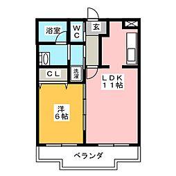 NGMII[4階]の間取り