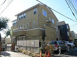東京都品川区西品川2丁目の賃貸アパートの外観