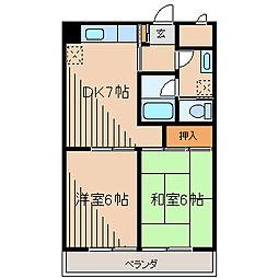 プラムツリー[2階]の間取り