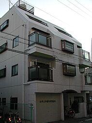 平野西コスモハイツ[203号号室]の外観