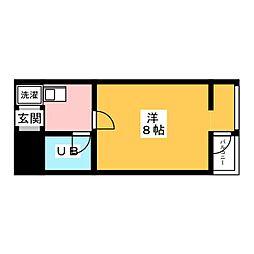 ビラ・アペックス京都竹田[2階]の間取り