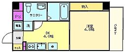 プログレス アペゼ[4階]の間取り