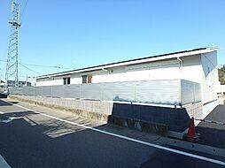 群馬県太田市富若町の賃貸アパートの外観