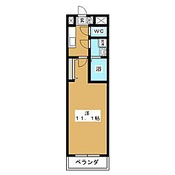 Premier川崎[2階]の間取り