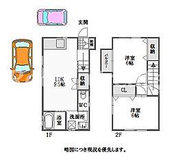 [タウンハウス] 徳島県徳島市川内町平石夷野 の賃貸【/】の間取り