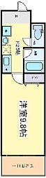 プロシード長居公園通[8階]の間取り