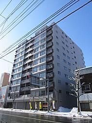 ライオンズマンション真駒内[9階]の外観