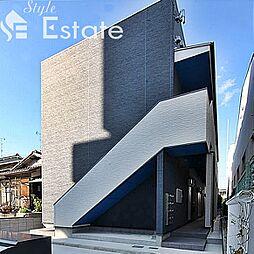 愛知県名古屋市西区中小田井4丁目の賃貸アパートの外観