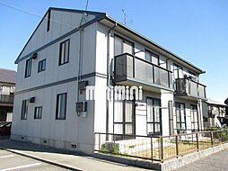 愛知県岡崎市下和田町字北浦の賃貸アパートの外観