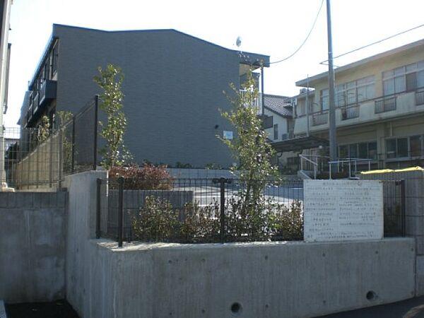 神奈川県厚木市金田の賃貸アパートの外観