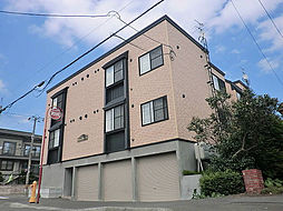 北海道札幌市東区北十八条東10丁目の賃貸アパートの外観