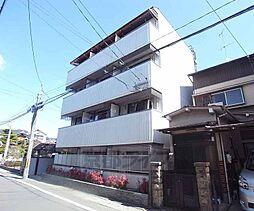 京都府京都市山科区音羽稲芝の賃貸マンションの外観