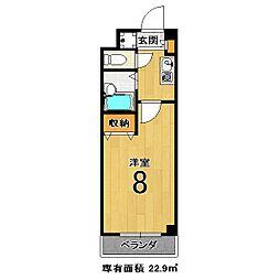 エクシードII[205号室]の間取り