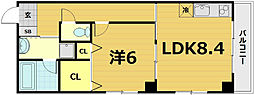 レジデンス雅都[4階]の間取り