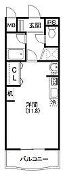 プリメーラ富塚[3階]の間取り