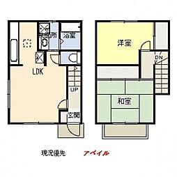 [テラスハウス] 神奈川県横浜市都筑区すみれが丘 の賃貸【/】の間取り