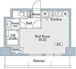 SHOWN HATSUDAI[5階]の間取り