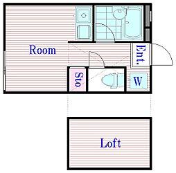 アーバンハイム 103号室[1階]の間取り