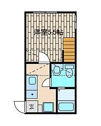 スリーピングフォレスト[2階]の間取り