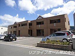 コートヴェール中島田II[2階]の外観