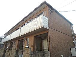 大阪府交野市星田2丁目の賃貸アパートの外観