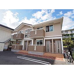 長野県松本市浅間温泉3丁目の賃貸アパートの外観