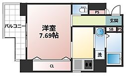 KEIGORINII[3階]の間取り