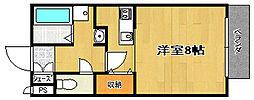 Siesta[1階]の間取り