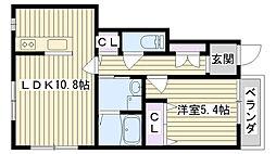 Gran・casa[1階]の間取り