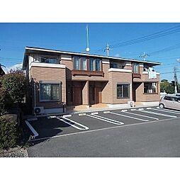 茨城県石岡市正上内の賃貸アパートの外観