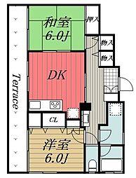 [一戸建] 千葉県千葉市中央区院内2丁目 の賃貸【千葉県/千葉市中央区】の間取り