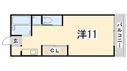 アーバンコート21[103号室]の間取り