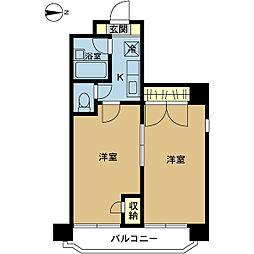 メゾン・ド・エグレット[8階]の間取り