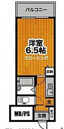 大塚台パークサイドハイツ[13階]の間取り